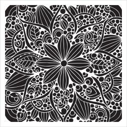 """6""""X6"""" Doodle Bloom"""
