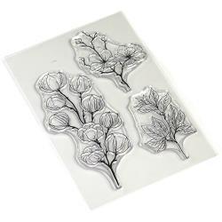 Elizabeth Crafts Clear Stamps First Sights Of Spring-Art Journal