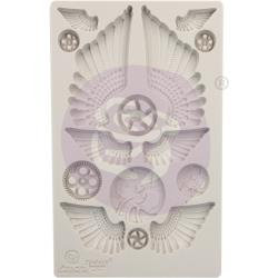 "Finnabair Decor Moulds 5""X8"" Cogs & Wings"