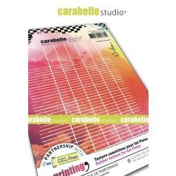 Carabelle Studio Art Printing A6 Rubber Texture Plate School Notebook