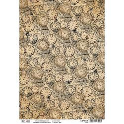 Ciao Bella Rice Paper Sheet A4 ~Time, Voyages Extraordinaires