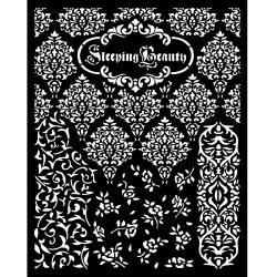 Textures, Sleeping Beauty Stencil