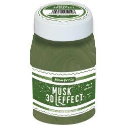 Stamperia Musk 3D Effect 100ml Dark Green