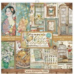12 x 12 Atelier Des Arts, 10 Designs/1 Each