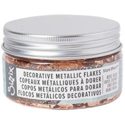 Sizzix Effectz Decorative Metallic Flakes 100ml Rose Gold