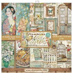 8 x 8 Atelier Des Arts, 10 Designs/1 Each