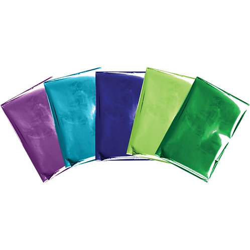 "We R Memory Keepers Foil Quill Foil Sheets 4""X6"" 30/Pkg Peacock"