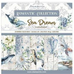 12 x 12 Romantic Sea Dream, 10 Designs/1 Each