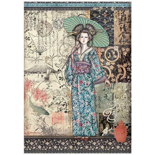 Lady, Sir Vagabond In Japan