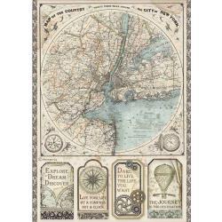 Map Of New York, Sir Vagabond