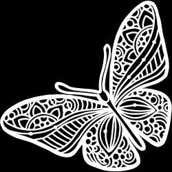 Joyous Butterfly 6 x 6