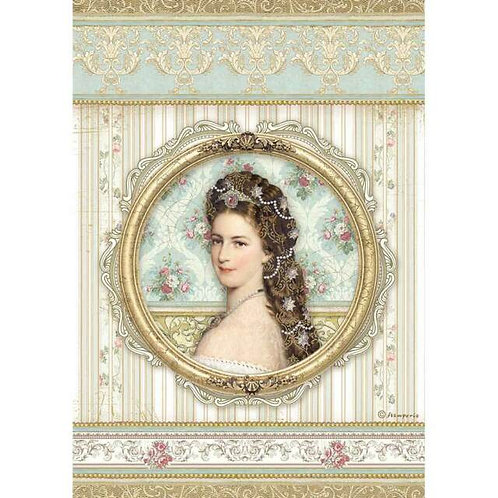 STAMPERIA Decoupage PRINCESS - FRAMES