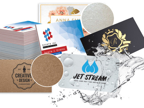 All About Business Cards.