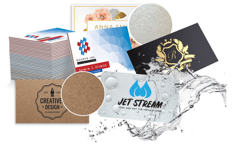 business cards stocks