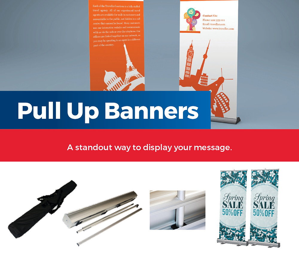 pull up banner, pullupbanner, retractable banner, popup banner, stand banner, portable banner