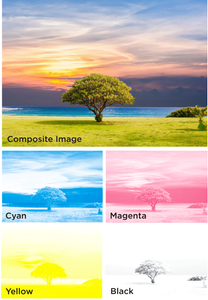 CMYK - Four Colour Process Separations