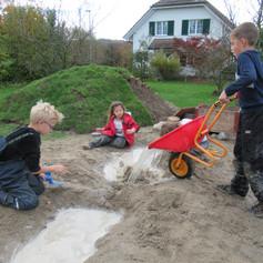 Kinder lernen durch das Spiel