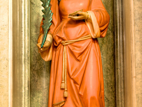 St. Lucy's Feast Day & Presepio open