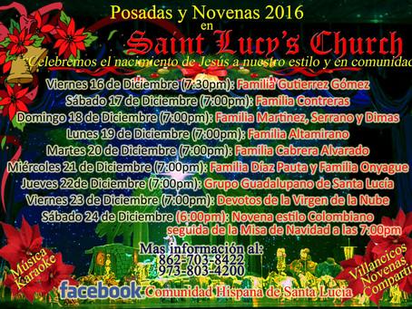 Posadas and Novenas (Church's Bsmt )