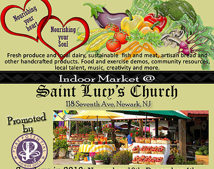 St. Lucy's Church Wellness Market. Keep you and your family living a healthier lifestyle...
