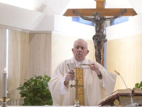 Pope prays at Mass for those caring for persons with disabilities