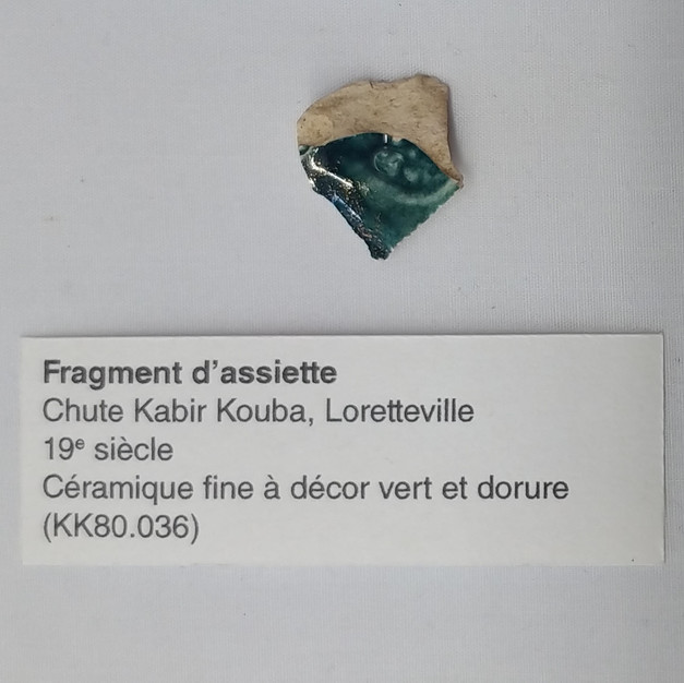 Fragment d'Assiette