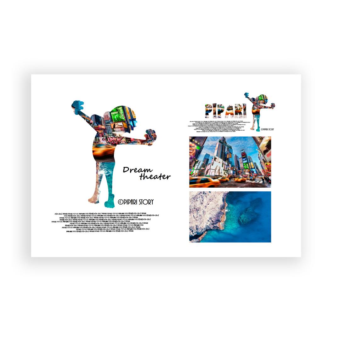 PIPARI Dream ポストカード 『Dream theater』
