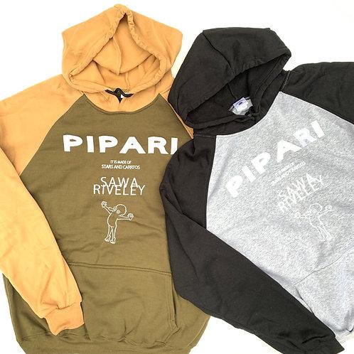 【PIPARI2020ツートーンパーカー】