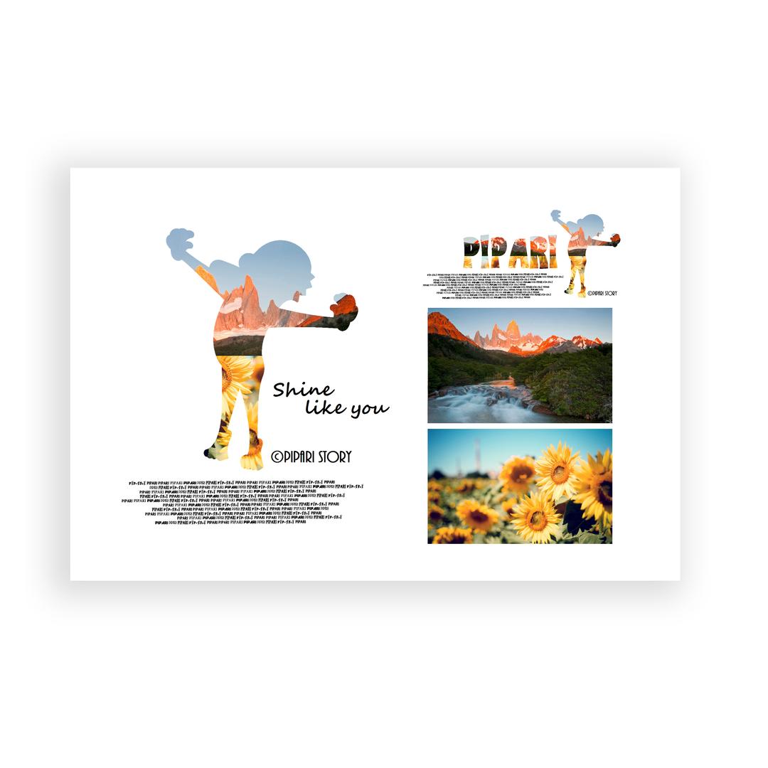 PIPARI Dream ポストカード 『Shine like you』