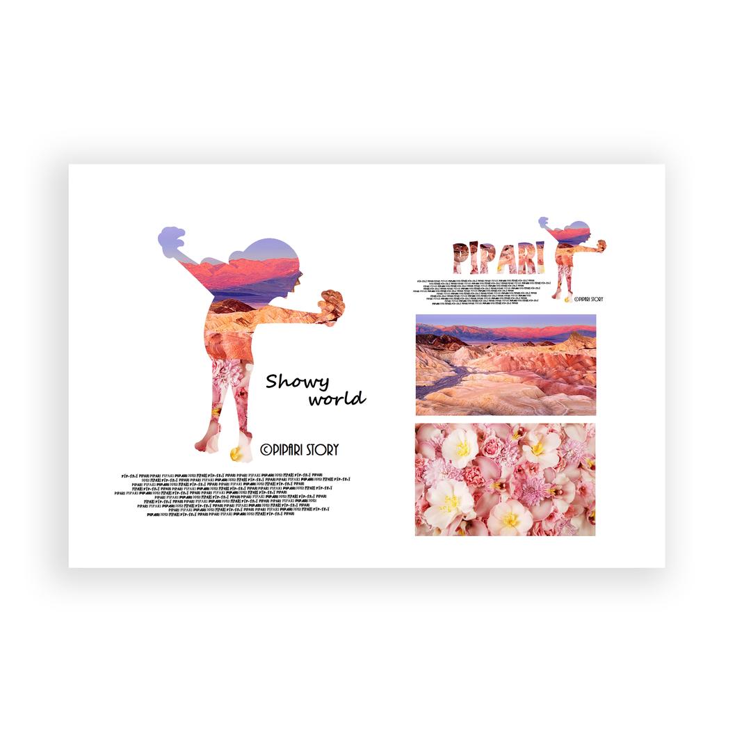 PIPARI Dream ポストカード 『Showy world』
