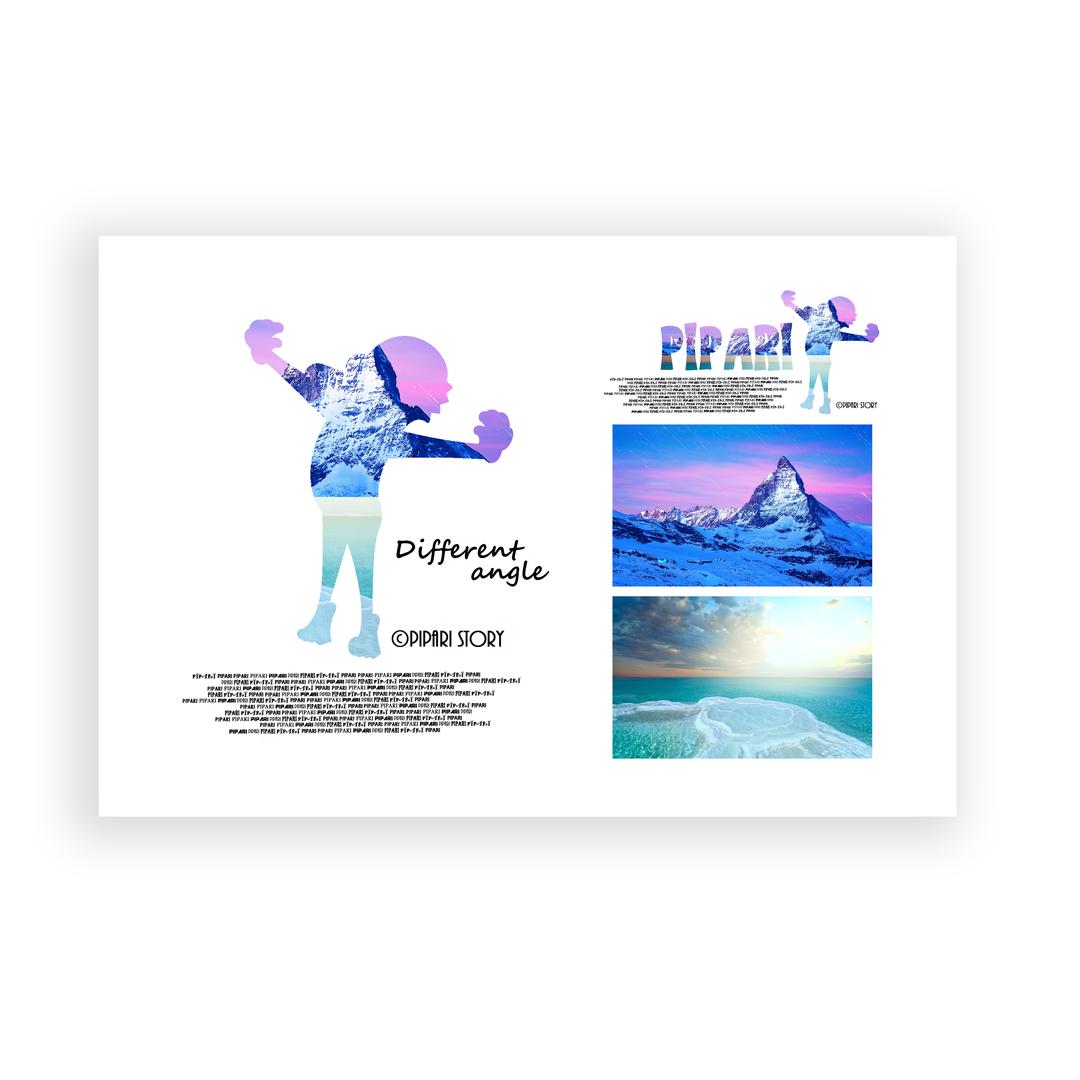PIPARI Dream ポストカード 『Different angle』