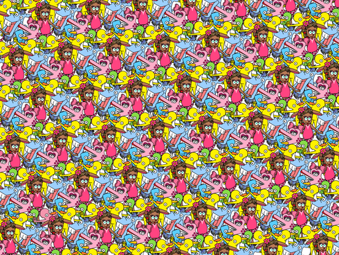 ピンクPIPARIを探せ!答えはこちら!