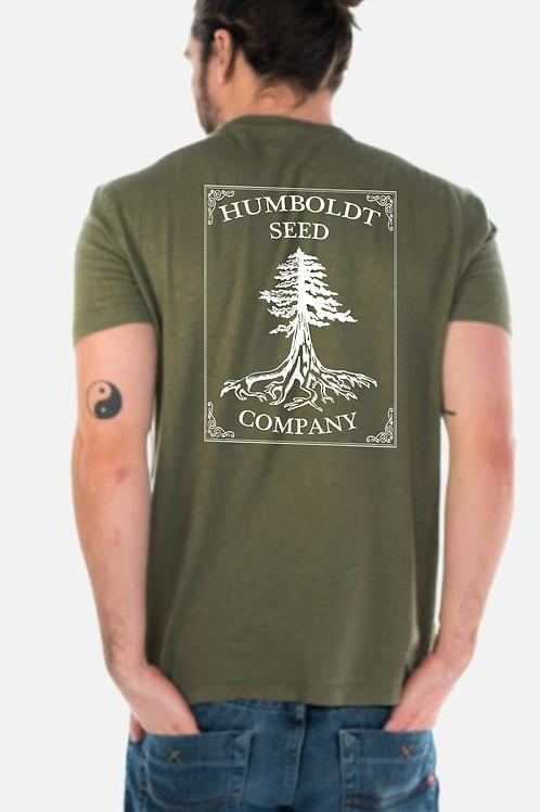 Hemp Humboldt Seed Tree Tee Cypress