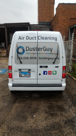 Duster Guy Rear View
