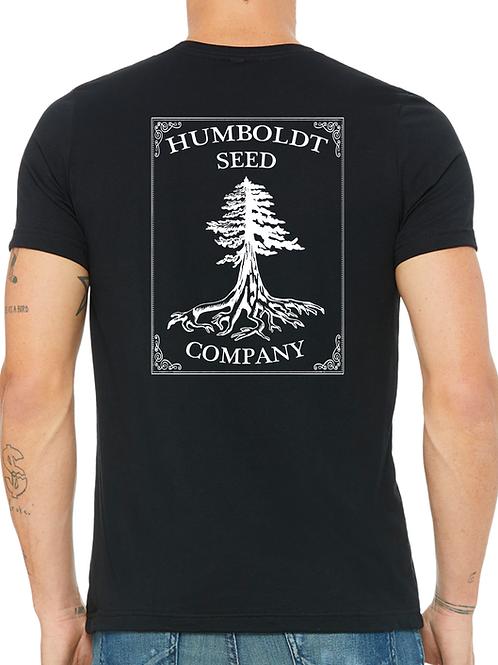 Hemp Humboldt Seed Tree Tee Black