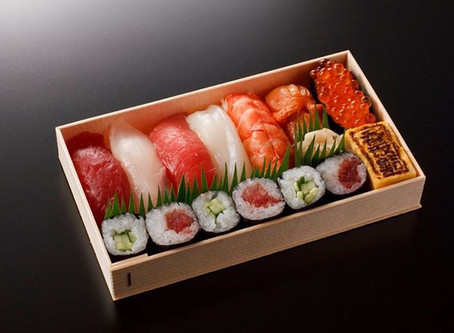 本格江戸前鮨を提供!
