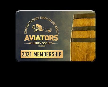 Aviators Whiskey Society Membership 2021