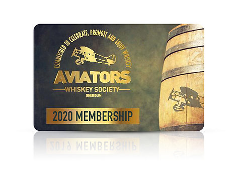 Aviators Whiskey Society Membership 2020