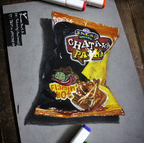 HOW TO DRAW REALISTIC FROM COLOR PENCILS