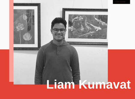 Liam Kumawat : Born to be an Artist