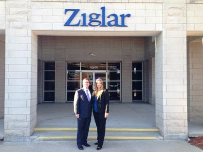 At Zig Ziglar offices