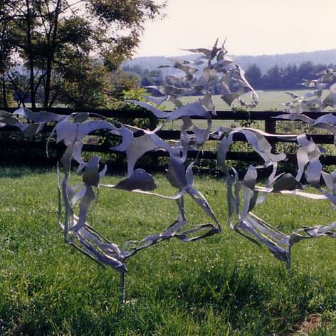ALUMINUM ETHEREOUS HORSES