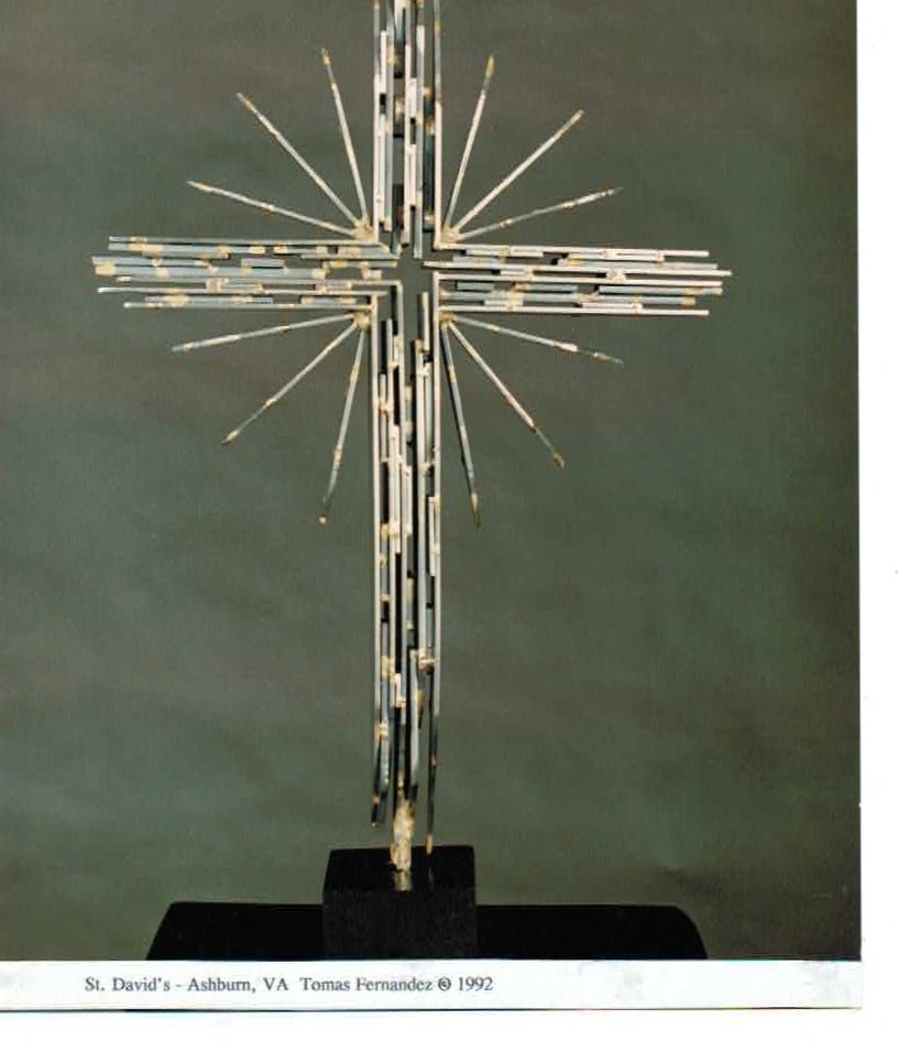 PROCESSIONAL CROSS OF LIGHT