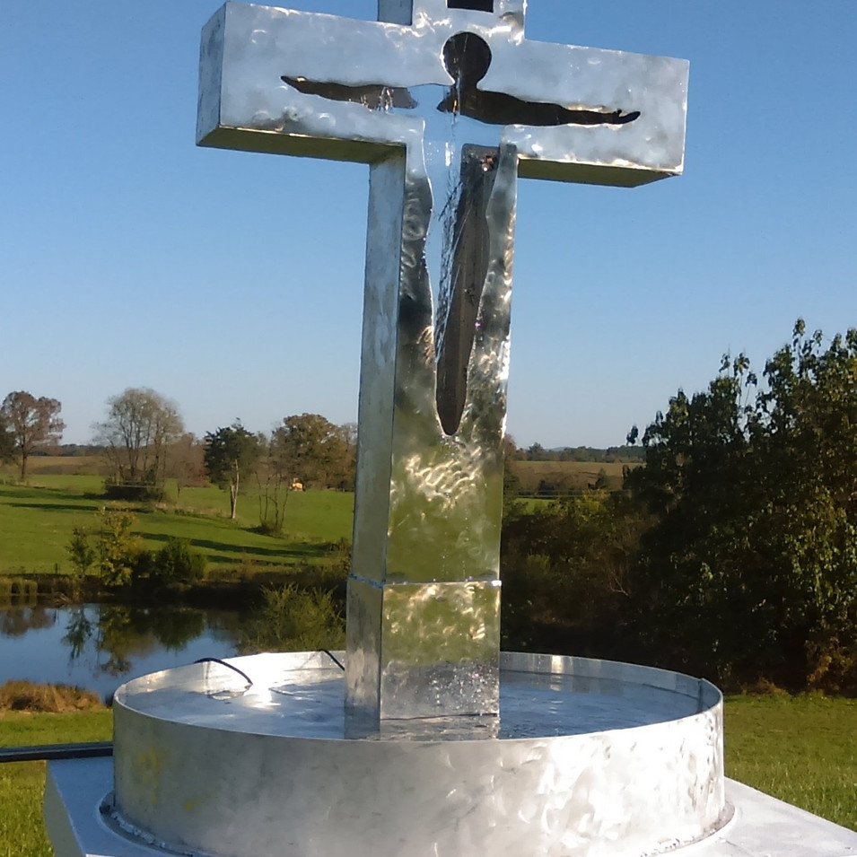 CROSS OF THE LIVING WATER