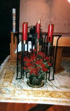 CANDLE STANDS - ST. MARKS