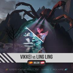 Vikkei Vs Ling Ling