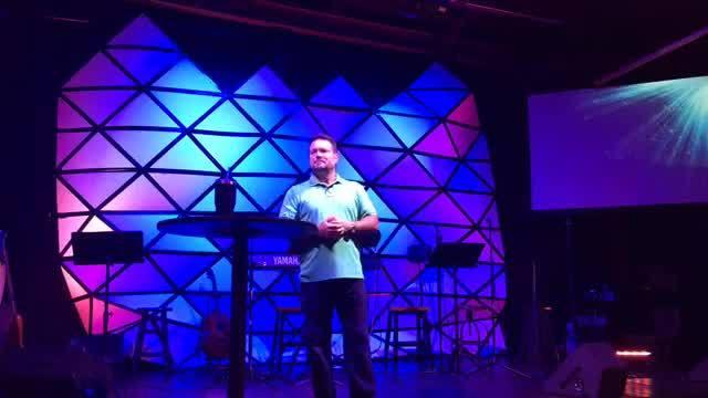 Pastor Sean - July 23, 2017