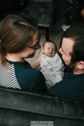 infant family session