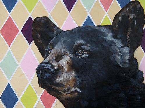 Black Bear - 10x8