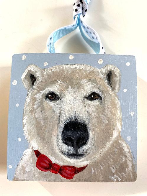 Polar Bear with Bowtie